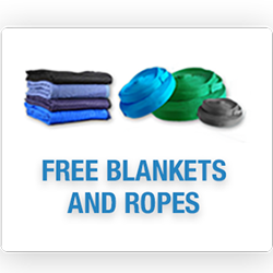 free blankets and ropes